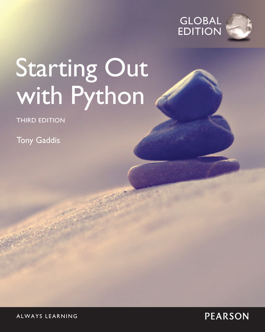 Pearson education starting out with python global edition starting out with python global edition fandeluxe Image collections
