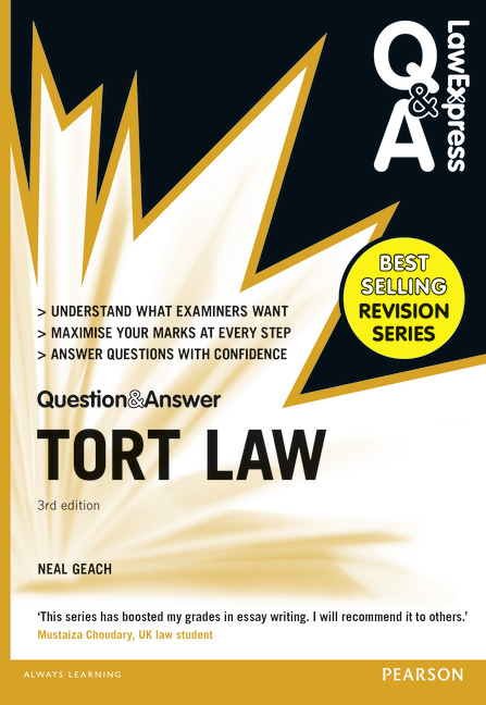 the law of torts glannon pdf