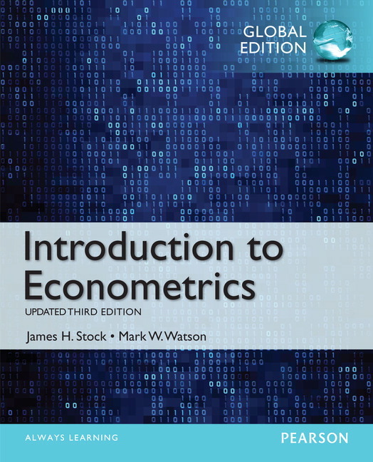 Pearson Education Introduction To Econometrics Update