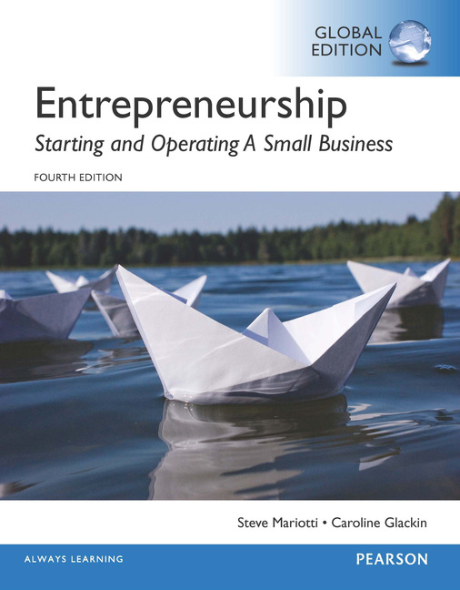 Entrepreneurship, 4th edition | small business & entrepreneurship.