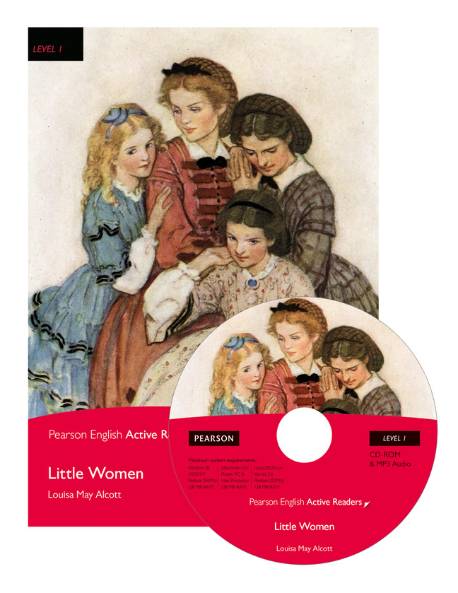Little Women Book M Rom Pack Pearson English Active Readers