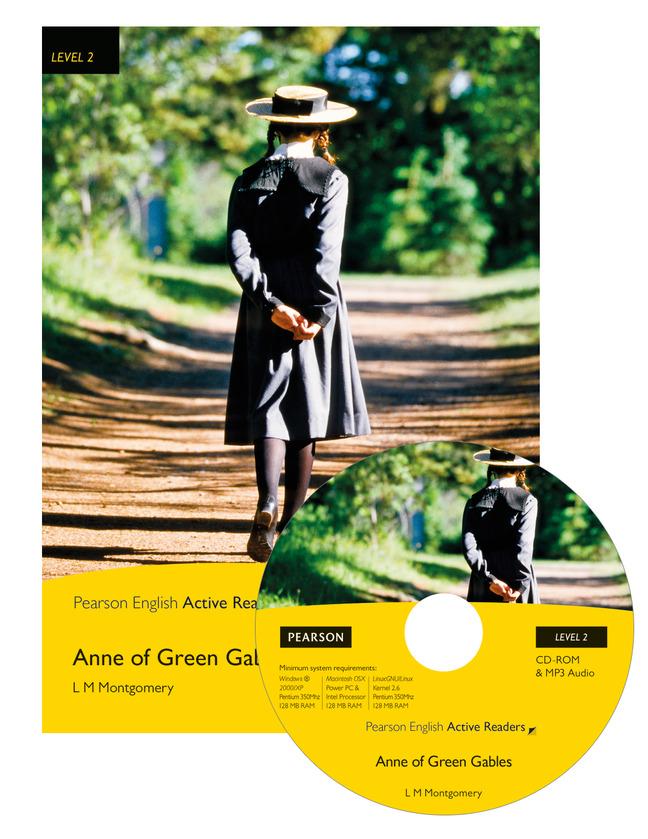Anne Of Green Gables Book Amp M Rom Pk Pearson English