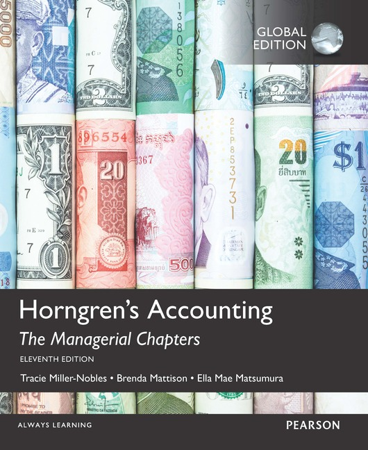 Pearson education horngrens accounting the managerial chapters horngrens accounting the managerial chapters the managerial chapters and the financial chapters with myaccountinglab fandeluxe Gallery