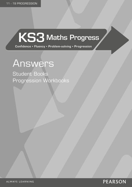 KS3 Maths Progress Answers