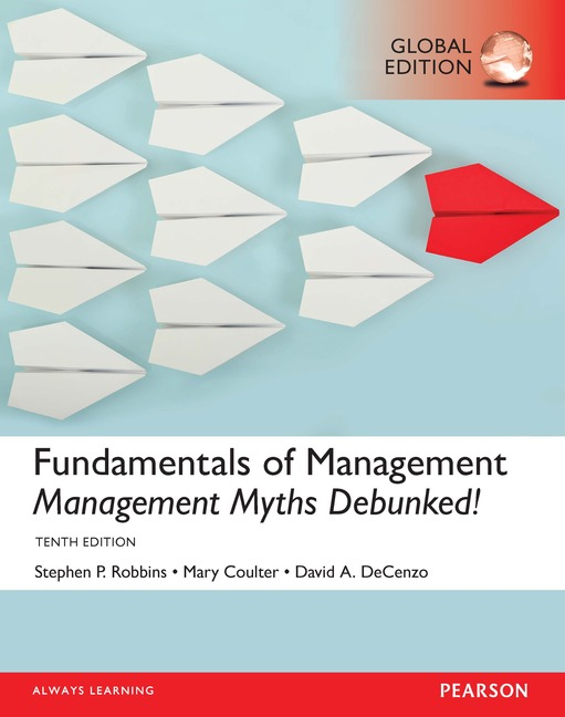 Pearson Education Fundamentals Of Management Management Myths