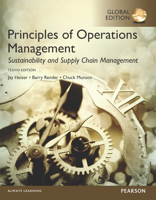 Pearson Education - Principles of Operations Management ...