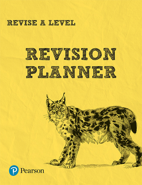 REVISE A level Revision Planner