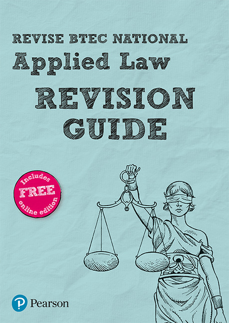 Revise BTEC National Applied Law Revision Guide