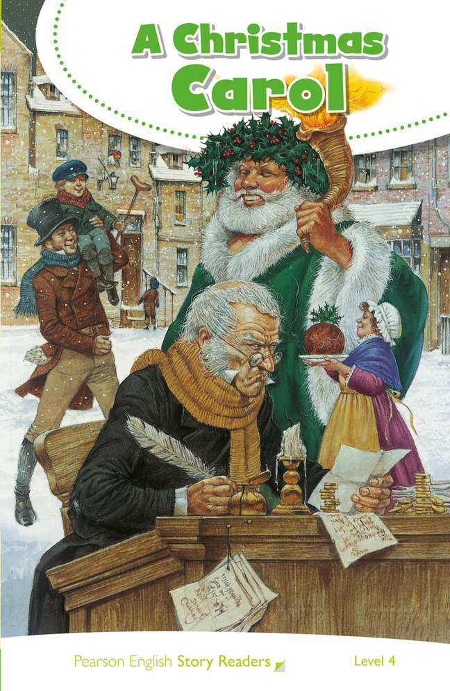 Christmas History In English.A Christmas Carol Pearson Readers