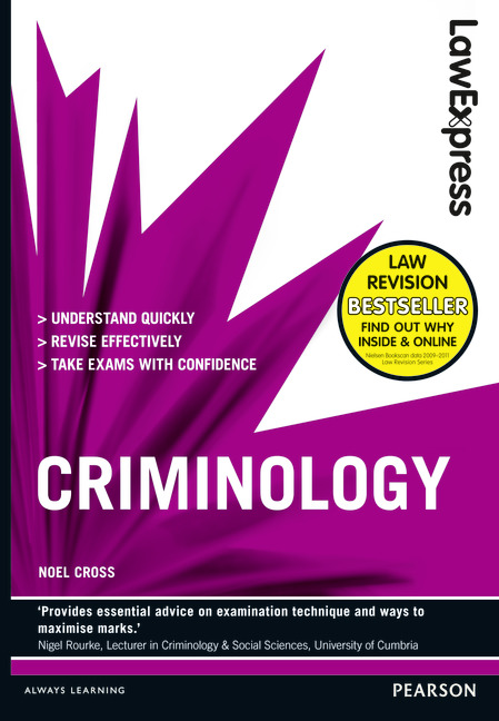 Criminology college science classes