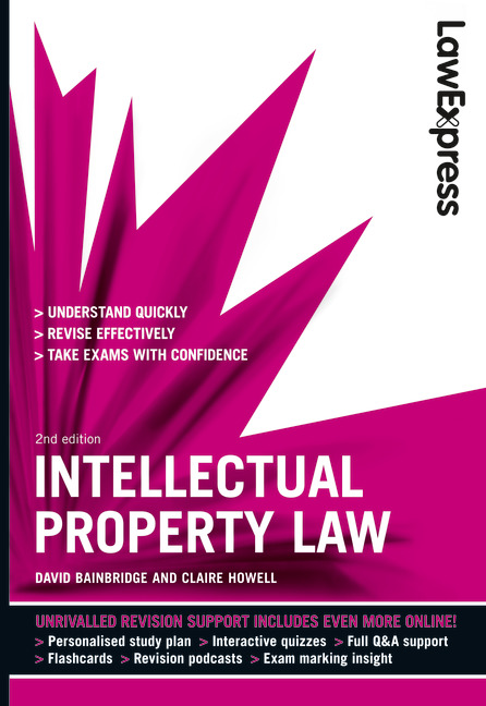Law Express Intellectual Property Law Revision Guide