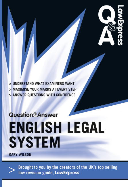 english legal system essay questions Read this essay and over 1,500,000 judicial precedent in the english legal system approach in order to protect the liberty of the individual in question.