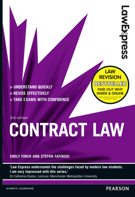 Pearson Education Law Express Contract Law Revision Guide - Online contract law