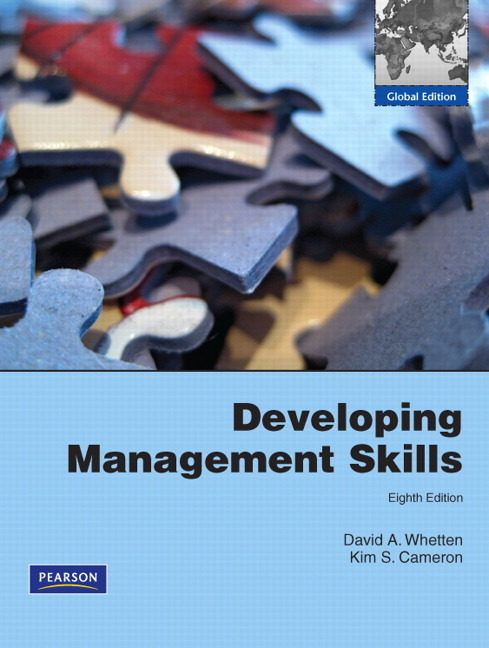 Pearson Education Developing Management Skills With Mymanagementlab