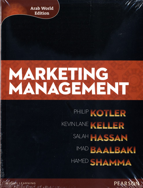 Pearson Education Marketing Management Arab World Editions With