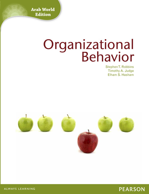 Test Bank For Organizational Behavior, 16th Edition by Stephen P. Robbins, Timothy A. Judge