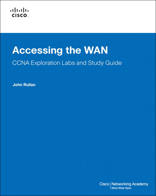 Technology book review: accessing the wan, ccna exploration labs.