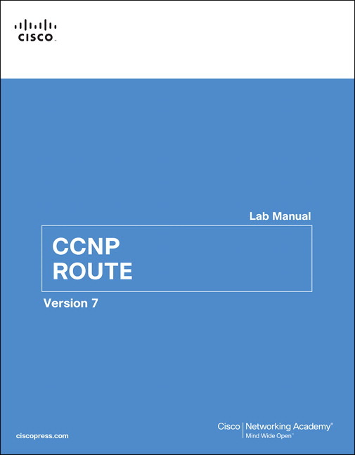 Pearson Education - CCNP ROUTE Lab Manual