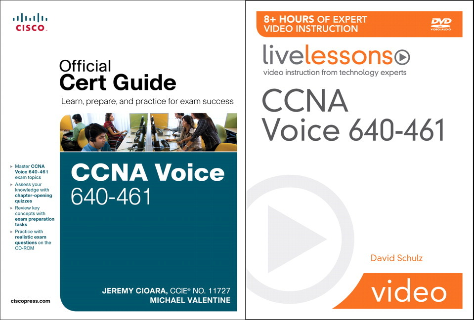 Pearson Education - CCNA Voice 640-461 Official Cert Guide and