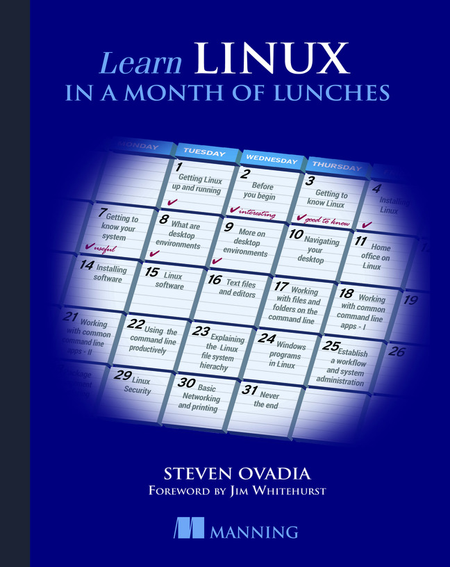 Pearson Education - Learn Linux in a Month of Lunches