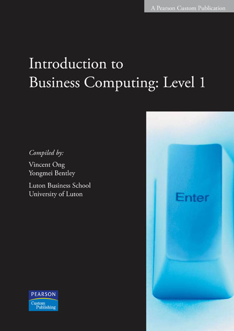 business computing 1 This course takes an applied, business-orientated approach to computing,  equipping you  in year 1, you'll learn the foundations of essential areas  including.