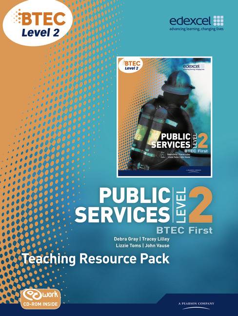 BTEC Level 2 First Public Services Teacher - Resource Pack