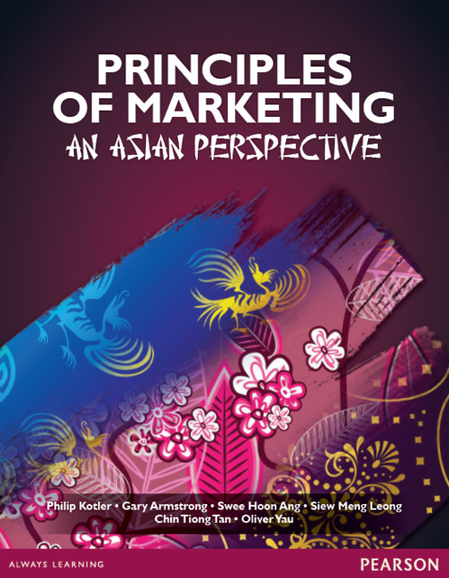 Principles of Marketing Pearson Principles of Marketing an