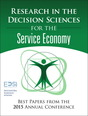 Research in the Decision Sciences for the Service Economy