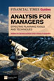 The FT Guide to Analysis for Managers