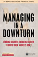 Managing in a Downturn