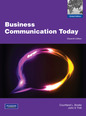 Bovee & Thill Business Communication Today 10e Global Edition