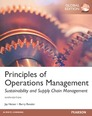 Principles Of Operations Management, plus MyOMLab with Pearson eText, Global Edition