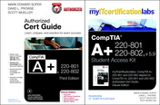 CompTIA A+ 220-801 and 220-802 Cert Guide, Deluxe Edition with MyITCertificationLab with Pearson eText Bundle, v5.9
