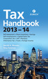 Zurich Tax Handbook 2013-14 ePub eBook