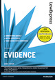 Law Express: Evidence 3rd edn