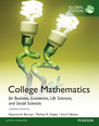 College Mathematics for Business, Economics, Life Sciences and Social Sciences with My Math Lab, Global Edition