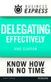 Business Express: Delegating effectively