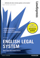 Law Express: English Legal System 6th edition ePub