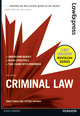 Law Express: Criminal Law ePub Electronic Book