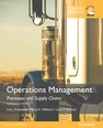Operations Management: Processes and Supply Chains, OLP with eText, Global Edition