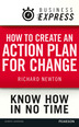 Business Express: How to create an action plan for change