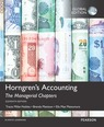 Horngren's Accounting: The Managerial Chapters with MyAccountingLab, Global Edition