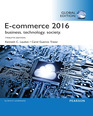 E-Commerce 2016: Business, Technology, Society, eBook, Global Edition