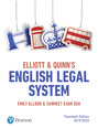 Elliott & Quinn's English Legal System