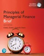 Principles of Managerial Finance, Brief plus Pearson MyLab Finance with Pearson eText, Global Edition