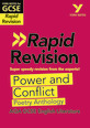York Notes for AQA GCSE (9-1) Rapid Revision: Power and Conflict AQA Poetry Anthology