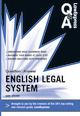 Law Express Question and Answer: English Legal System Law (Q&A Revision Guide)