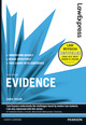 Law Express: Evidence (ebook version)